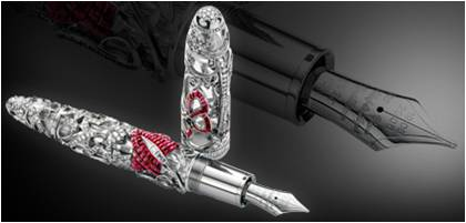 mont blanc stylo plume diamond