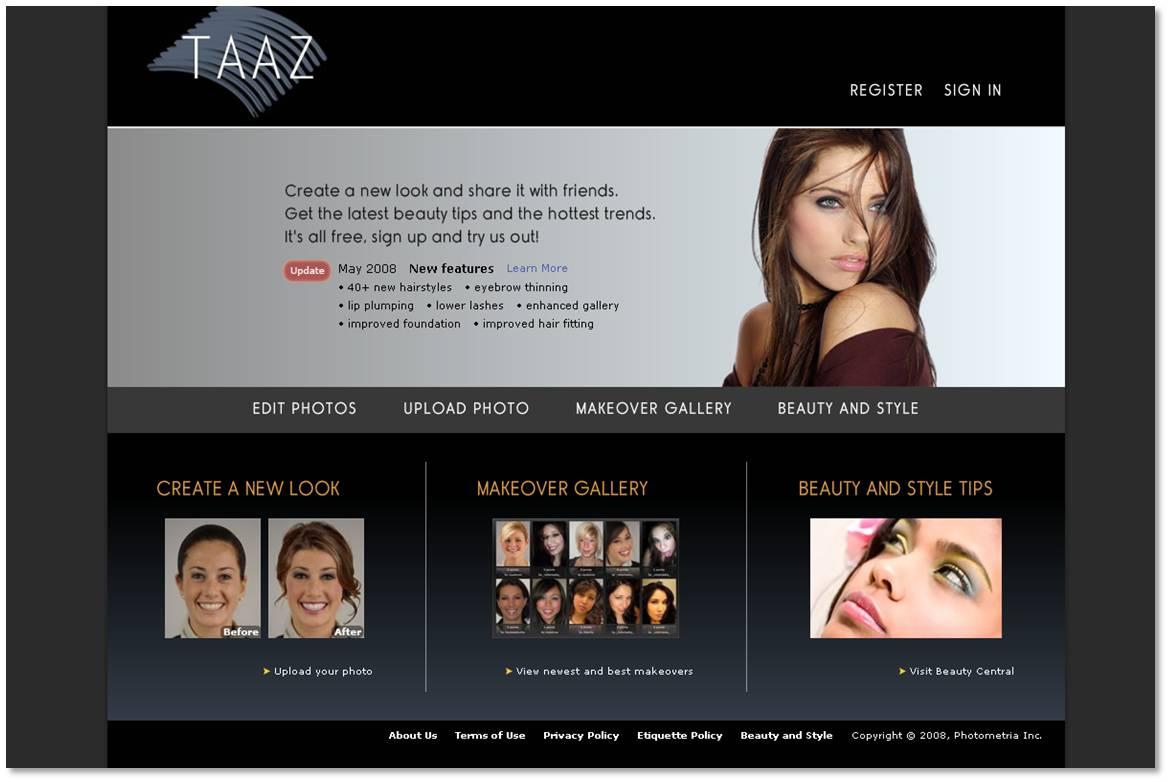 logiciel taaz gratuit